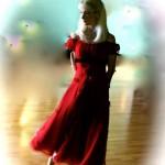 Alex red dress